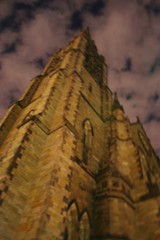 Church of the Covenant (BRENT REFSLAND) Tags: cloud church boston architecture night glow angle cathedral brent newbury churchofthecovenant refsland