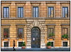 Rome Architecture (Mike G. K.) Tags: door windows italy orange rome color colour roma building stone architecture italia bricks peach symmetry dri hdr photomatix singlejpghdr goldstaraward palazzolancellotti lancelotpalace