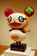 Takashi Murakami: Panda (jpellgen) Tags: 2002 art minnesota japan japanese nikon panda artist graduation minneapolis institute mia trunk 1855mm twincities nikkor 2008 mn louisvuitton takashimurakami kanyewest d40