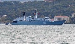 """Regele Ferdinand"", F221, flagship of the Romanian Navy, Bosphorus, Istanbul, Turkey, 20 September 2008 (Ivan S. Abrams) Tags: coastguard docks turkey boats nikon mediterranean ataturk ships istanbul getty lighters nikkor shipping tugs straits ports nikondigital blacksea gallipoli ferries harbors watercraft bosphorus tugboats gettyimages vessels freighters tankers harbours cruiseships barges smrgsbord warships destroyers ferryboats navyships speedboats frigates internationaltrade classicboats seaofmarmara navies containerships portcities navalvessels bulkcarriers nikonprofessional chokepoints onlythebestare boatnerd ivansabrams trainplanepro nikond300 shippinglanes internationalshipping sealanes ivanabrams worldwideshipspotters servicecraft gettyimagesandtheflickrcollection feriobots coastalfreighters marinecommerce internationalcommerce maritimecommerce seaportsseaportmaritime crossroadsasiaeuropebosforbogazasia minorboxesintermodal tugobats copyrightivansabramsallrightsreservedunauthorizeduseofthisimageisprohibited tucson3985gmailcom copyrightivansafyanabrams2009allrightsreservedunauthorizeduseprohibitedbylawpropertyofivansafyanabrams unauthorizeduseconstitutestheft thisphotographwasmadebyivansafyanabramswhoretainsallrightstheretoc2009ivansafyanabrams abramsandmcdanielinternationallawandeconomicdiplomacy"