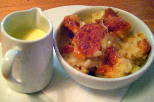 Fruit Cobbler with Custard - Canteen