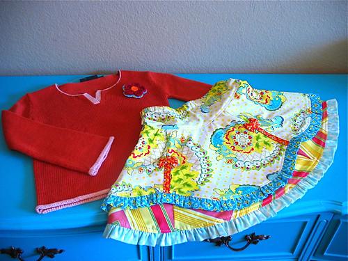 Pop Garden Insa Sweater Set