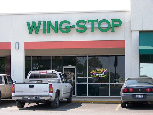 The new Wing Stop in Seguin