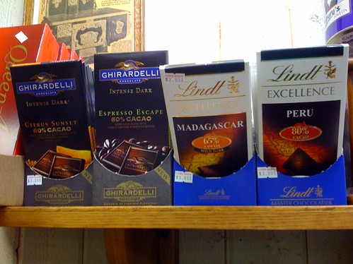 Delicious dark chocolates!