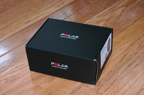 Polar RS800CX box