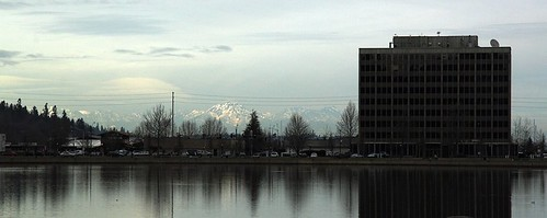Capitol Lake | Capitol Center | Olympic Mountains