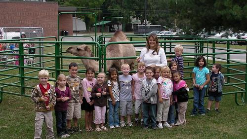 Bilynthia and her Kindergarten class
