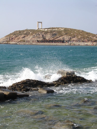 the view to Portara by you.
