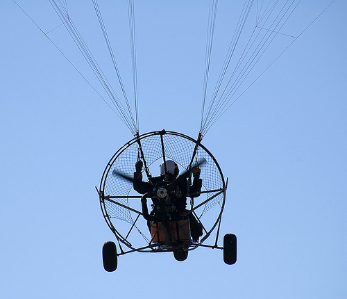 motorized paraglider