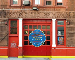 FDNY Firehouse Squad  252, Bushwick, Brooklyn, New York City (jag9889) Tags: ocean county city nyc house ny newyork building station architecture brooklyn truck fire hill company kings borough squad firehouse 2008 fdny department firefighters bushwick 252 bravest y2008 squad252 jag9889