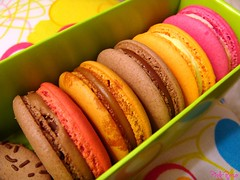 macaroons (pinkyia) Tags: green colorful sweet box chocolate dolce macaroon colourful beautysecret platinumphoto anawesomeshot apluspho