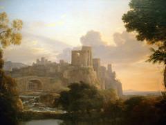 Lorrain (Claude) - View of Tivoli Sunset (detail) (pjink11) Tags: sanfrancisco art artwork 2008 legionofhonor lorrain 1642 fineartsmuseumssf