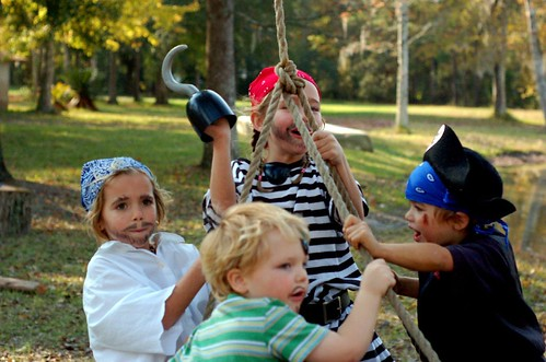 jolly pirates on a swing by you.
