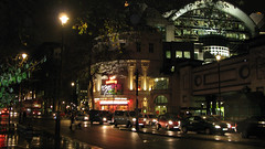 The Playhouse and Charing Cross (mike_smith's_flickr) Tags: london theatre landmarks charingcross 2012 london2012 theatreland londontown londonatnight visitlondon playhousetheatre olympiccity mylondon londontheatre londongames greatestcityintheworld touristlondon historyoflondon charingcrossatnight