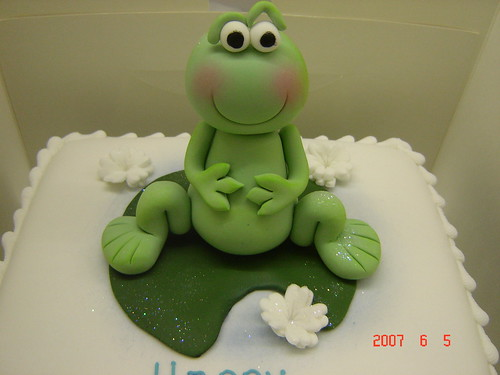 Frog Cake Decorations Uk