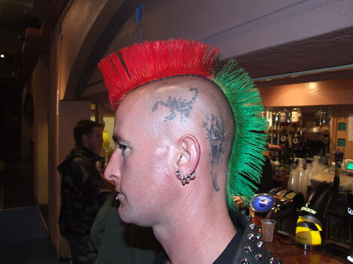 Rebellion punk hairstyle 2008