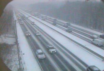 2008-12-19 -- Snow Exit 18 on I-95