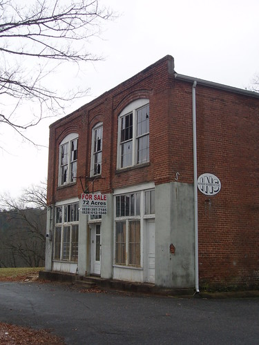 Old Store at Abandoned Mill Town