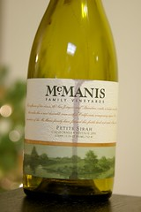 2006 McManis Family Vineyards Petite Sirah