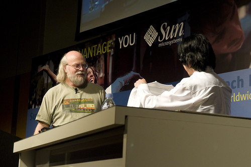 Mr. James Gosling, General Session, Sun Tech Days 2008 in Tokyo Day1, 2008.12.02 by yuichi.sakuraba.