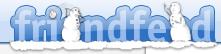 FriendFeed Holiday Logo