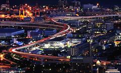 yokohama (Vladimir Zakharov  ) Tags: japan highway nohdr yakohama viewfromlandmarktower
