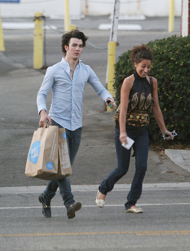 Kevin Jonas and Danielle Deleasa by lindanglo.