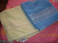 lindas toalhas de banho