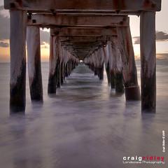 Point Lonsdale (Craig Ridley) Tags: ocean beach water pier sand jetty melbourne victoria pointlonsdale portphilipbay bellarinepeninsula