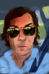 IMG_0711 (Xoan Baltar) Tags: selfportrait art paint newmedia brushes whit sketches autorretrato app interactiveart cuadro iphone xoan pirillan