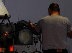 How to make a glass-ball (:Linda:) Tags: winter people snow man work germany handicraft town leute adult thuringia blow production mann behind job trade arbeit tool ofen handwerk glassball glassblower mensch thuringianforest measuringinstrument lauscha madeofmetal madeofglass erwachsener metallgegenstand ausmetallgemacht glasgegenstand