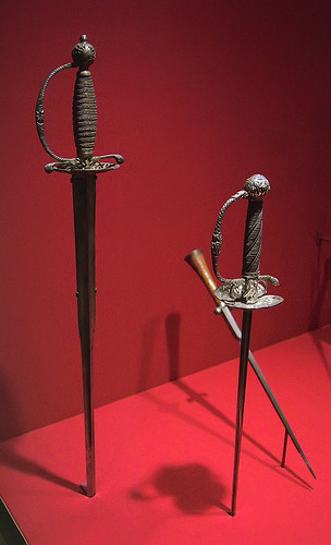 Saint Louis Art Museum, in Saint Louis, Missouri, USA - daggers