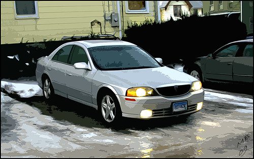 Flickriver madmark455s most interesting photos my lincoln ls 2001 v8 sciox Gallery