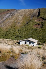 Mangatepopo Hut Photo
