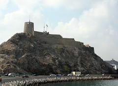 Sultanate of Oman - Muscat (Chris&Steve) Tags: v100 fort corniche oman 2008 muscat p100 sultanateofoman mutra 10millionphotos mutrafort