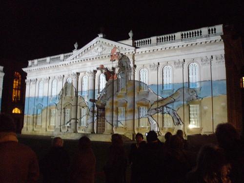 Cambridge 800th Light Show: Darwin