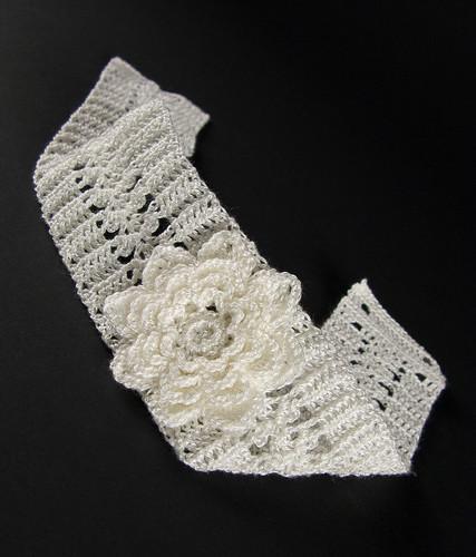 Bride Crochet Lace Choker