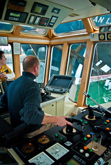 Concentrated at work.. (sjoerd_reverda) Tags: bridge port rotterdam seahorse ship board magic engineering sd commercial tugboat shipping naval merchant rt workboat kotug kooren