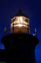Tacking Point Lighthouse (Visual Clarity Photography) Tags: sunset geotagged nikon dusk january australia nsw newsouthwales hastings 2009 portmacquarie lightroom d90 28mmf28d tackingpoint nikond90 tackingpointlighthouse nikkor28mmf28d geo:lat=31475625 geo:lon=152937333 d90200901246790