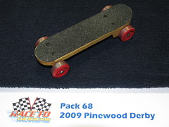 Pinewood Derby Skateboard