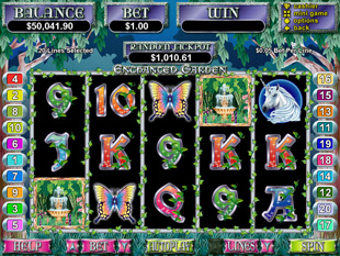 enchanted garden slot game online review