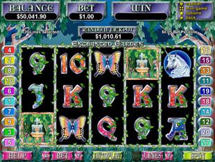 enchanted garden slot game online review