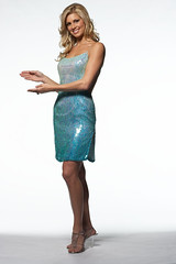 STRIDE® Gum Nonstop Mint™ Winfomercial: Behind the Scenes Hostess Shot (Stride Gum) Tags: girl gum women candy mint blond commercial blonde chewinggum nonstop infomercial stride bluedress behindthesceness stridegum winfomercial