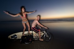 rossShannon-surfLoaderSurfin (xtracycleinc) Tags: bike bicycle diy surf cut craft utility surfing cargo surfboard longboard stick radish install dit longtail squeegee xtracycle doittogether