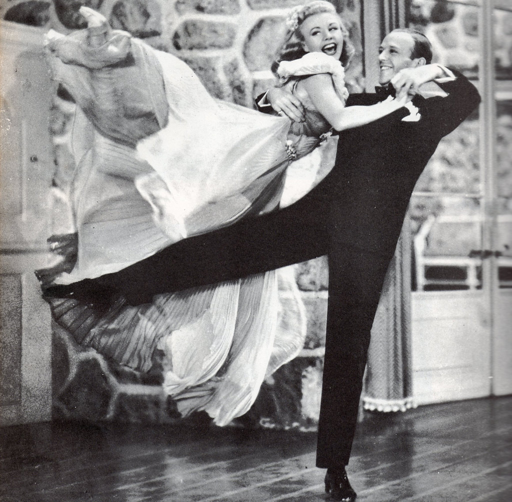 "Fred Astaire & Ginger Rogers in ""Carefree"", 1938"