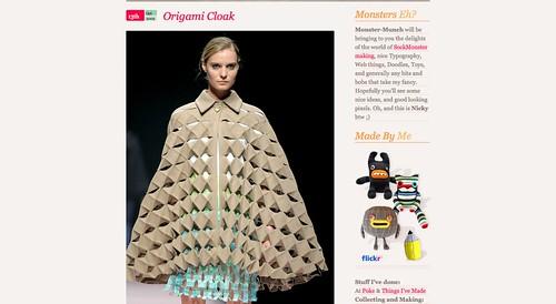 Monster-Munch Origami Cloak_1255791542146