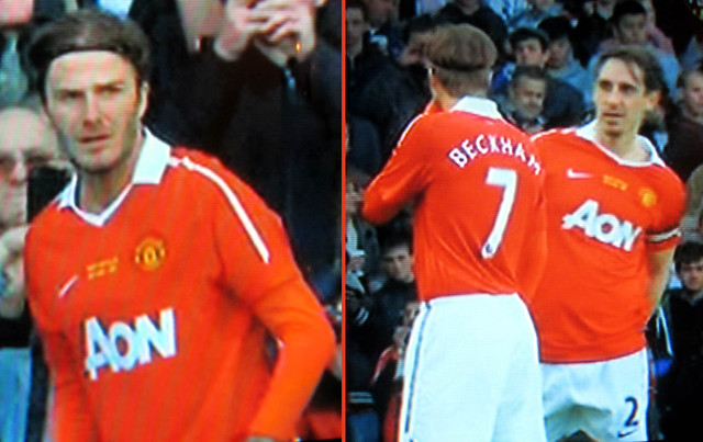 Beckham returns to Manchester United by LZ-128