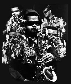 Rahsaan Roland Kirk (1935-1977) by Photographer Unknown to Me