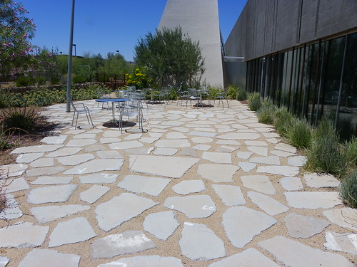 Outside sitting area - Agave Library