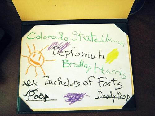 Bradley's Diploma